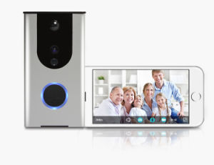 Smart Home Battery-Powered WiFi Doorbell Camera Remote Control Doorbell HD Two Way Audio WiFi Doorbell Wireless WiFi Camera pictures & photos