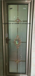 Real Photo White Aluminum Bathroom Door (EA-1006) pictures & photos