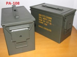 Fat. 50 Cal Ammo Can
