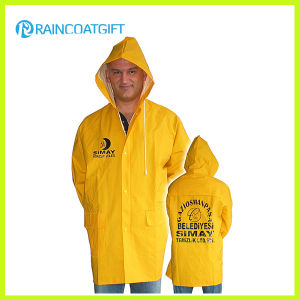 Waterproof PVC Polyester Safety Yellow Workwear pictures & photos