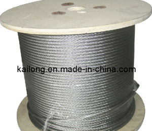 5mm 7x7 Stainless Steel Wire Rope pictures & photos