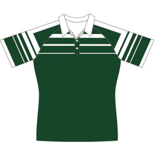 Custom Design Sublimated Rugby Tshirt Uniform in High Quality pictures & photos