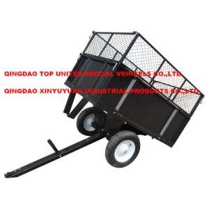 Garden Pull Cart Universal ATV Trailer