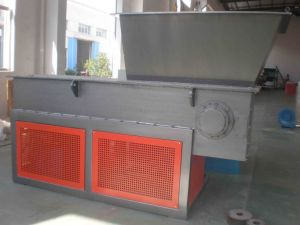 Single Shaft Shredder for Plastic Bucket, Panel, Film, Hard Pipe Recycling pictures & photos