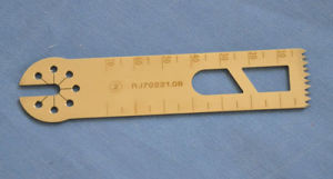 Swiss Material Durable Stainless Steel Medical Saw Blades pictures & photos