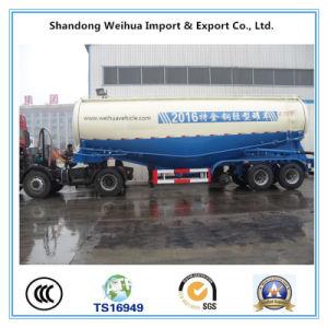 Popular 3 Axles Bulk Cement Tanker Truck Trailer From Manufacturer pictures & photos