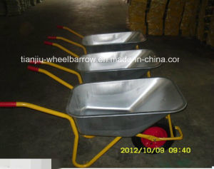 High Quality Russia Model Agriculture Wheel Barrow (WB6404H) pictures & photos