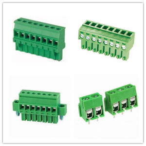 Factory Electronic PCB Screw Terminal Block for PCB pictures & photos
