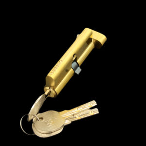 68mm Single Open Brass Safe Lock Cylinder Smart Lock pictures & photos