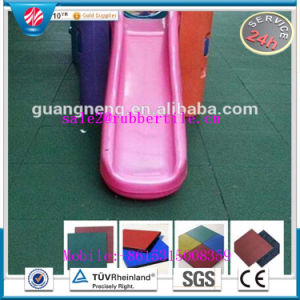 Square Rubber Tile Rubber Factory Direct Indoor Rubber Tile Playground Rubber Tile pictures & photos