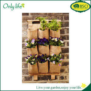 Onlylife 9 Pockets Hanging Bag Vertical Garden Planter Storage Bag pictures & photos