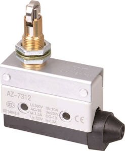 Cross Roller Plunger AC DC Spdt Limit Micro Switch (T/A Z-7312) pictures & photos