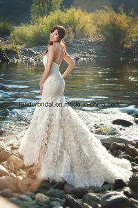 Sweetheart Bridal Gowns Mermaid Tiers Lace Wedding Dresses Z2017 pictures & photos
