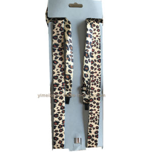 Hot Promotional Leopard Printed Elastic Brace and Bowties Set pictures & photos