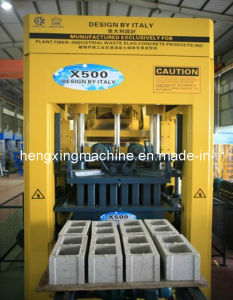 Patented Product X500 Plant Fiber Block Making Machine