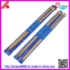 35cm Single Point Bamboo Knitting Needle (XDBK-001) pictures & photos