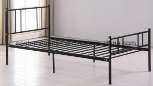 Cheap Metal Steel Iron Single Bed Fo Adults pictures & photos