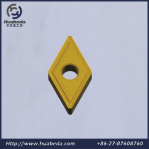 Coated Tungsten Carbide Cutting Insert, Cemented Carbide Turnining Inserts, Dcmt pictures & photos