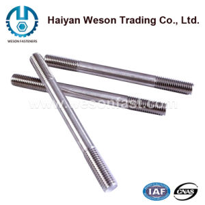 Double Head Thread Stud Bolt with Nuts pictures & photos