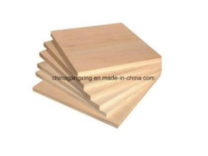 Poplar Birch Fancy Film Faced Decorative Plywood for Furniture pictures & photos