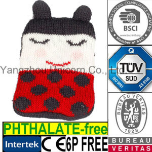 Knit Medical Reusable Instant Hand Warmer Ladybug Toy pictures & photos