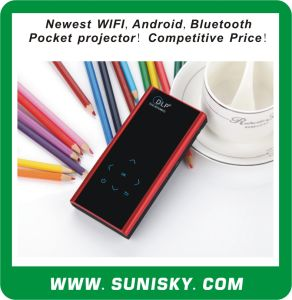 Multifunctional Mini WiFi + Bluetooth + Android Projector (SMP7052) pictures & photos
