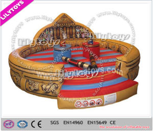 Lilytoys Newest Design Inflatable Gladiator Jousting Ring for Sale (J-SG-045) pictures & photos