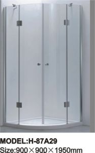 Sanitary Ware Tempered Glass Shower Screen