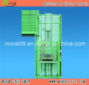Hydraulic Driven Vertical Freight Elevator pictures & photos