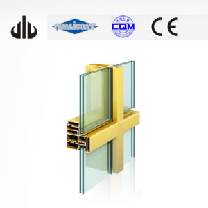 Aluminium Windows and Doors Profiles Aluminium Curtain Wall Frame