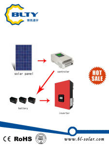 5000W off-Grid Solar Power System Solar Home System pictures & photos