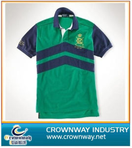 Embroider Polo Shirt with Acid Wash (CW-PS-34) pictures & photos