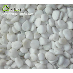 White Natural Pebble Gravel River Stone For Garden Paving Decotation