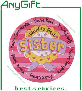 2D PVC Coaster with Customized Logo and Size pictures & photos