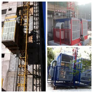 CE Certified Passenger Construction Hoist with Load 2t and 4t pictures & photos