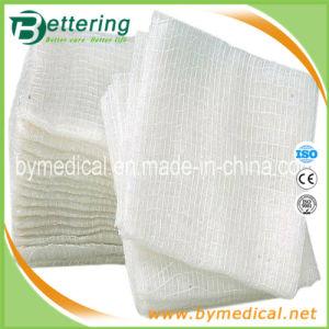 Medical Abosrbent Cotton Gauze Swab pictures & photos