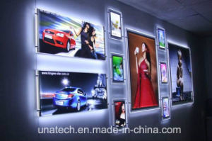 Wall Mounted Acrylic Crystal LED Light Box pictures & photos