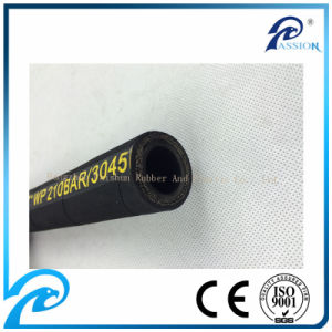 18000psi SAE 100r9 Pressure Hydraulic Hose for Construction pictures & photos