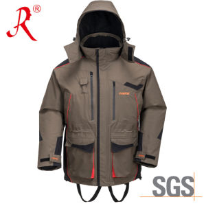 Waterproof Winter Quilted Sea Fishing Jacket (QF-9084A) pictures & photos
