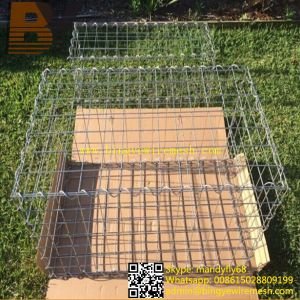Welded Wire Mesh Stone Cage Gabion Basket Box pictures & photos
