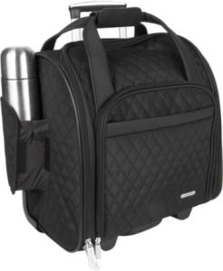 Black Check Luggage Bag (SKTB-0020) pictures & photos