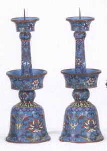 Cloisonne Candlestick pictures & photos