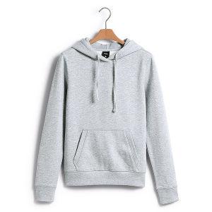 Custom Cotton/Polyester Hoodies Sweatshirt of Fleece Terry (F014) pictures & photos