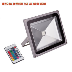 30W IP65 RGB Remote Controller LED Outdoor Floodlight pictures & photos