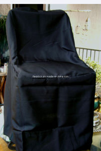 Wholesale Folding Chair Cover Black pictures & photos