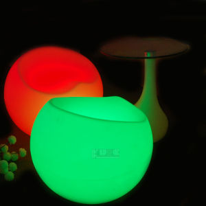 Apple Shape LED Chair Indoor/Outdoor LED Light up Glow Furniture pictures & photos