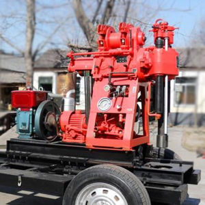 Xy-150A Tractor Water Borehole Well Drilling Rig pictures & photos