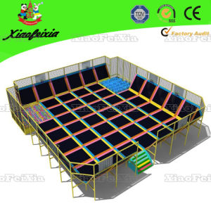 High Quality Trampoline Park for Children (14-12-1) pictures & photos