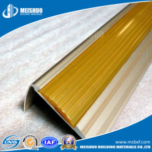 Fluted PVC Inserts Aluminum Metal Stair Nosing pictures & photos