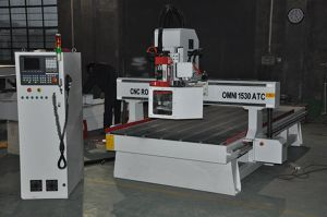 Servo-Driven 1530 Atc CNC Carving Machines with Ce pictures & photos